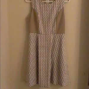 Cute houndstooth dress